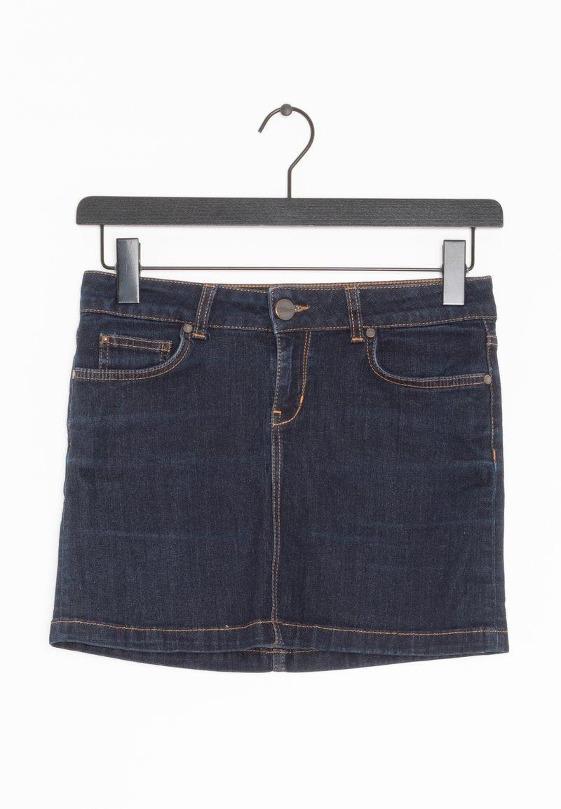HALLHUBER - Spódnica jeansowa - blue