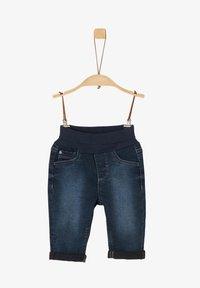 s.Oliver - Denim shorts - dark blue - 0