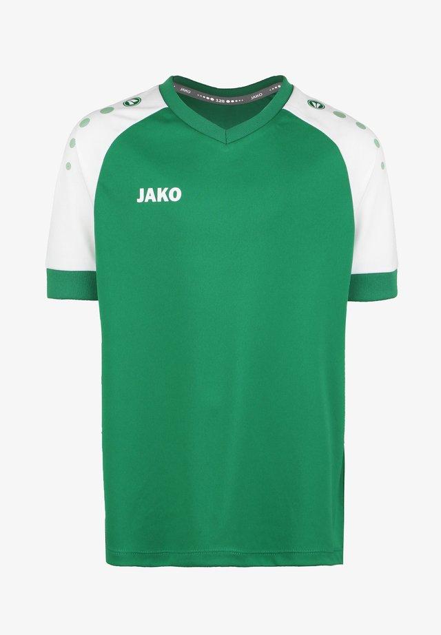 CHAMP  - Print T-shirt - sportgruen / weiss