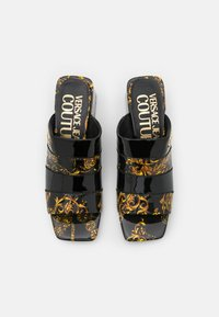 Versace Jeans Couture - Heeled mules - black - 4