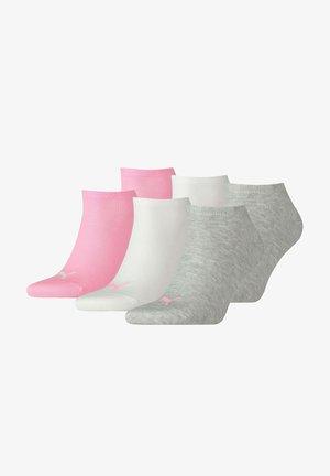 6 PACK - Trainer socks - prism pink