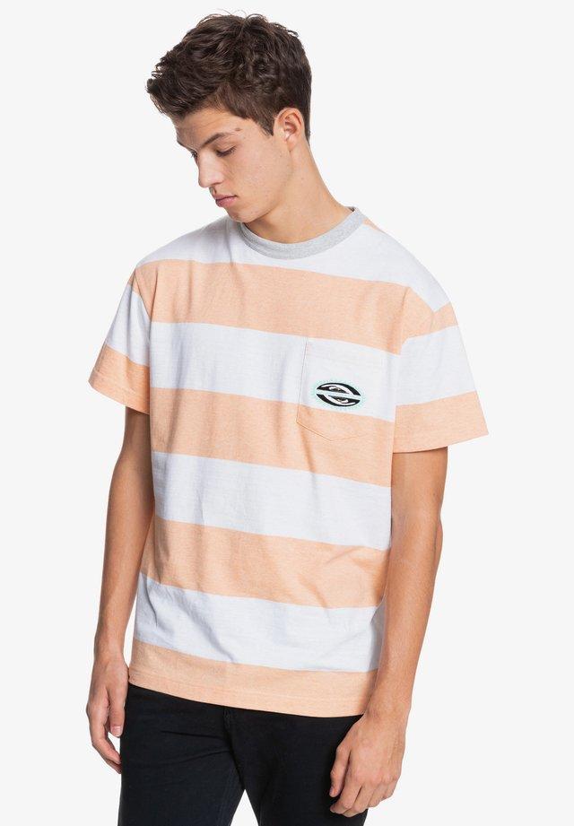 Print T-shirt - apricot full charge