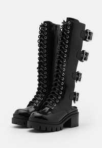 Jeffrey Campbell - TANK GIRL - Lace-up boots - black box - 2