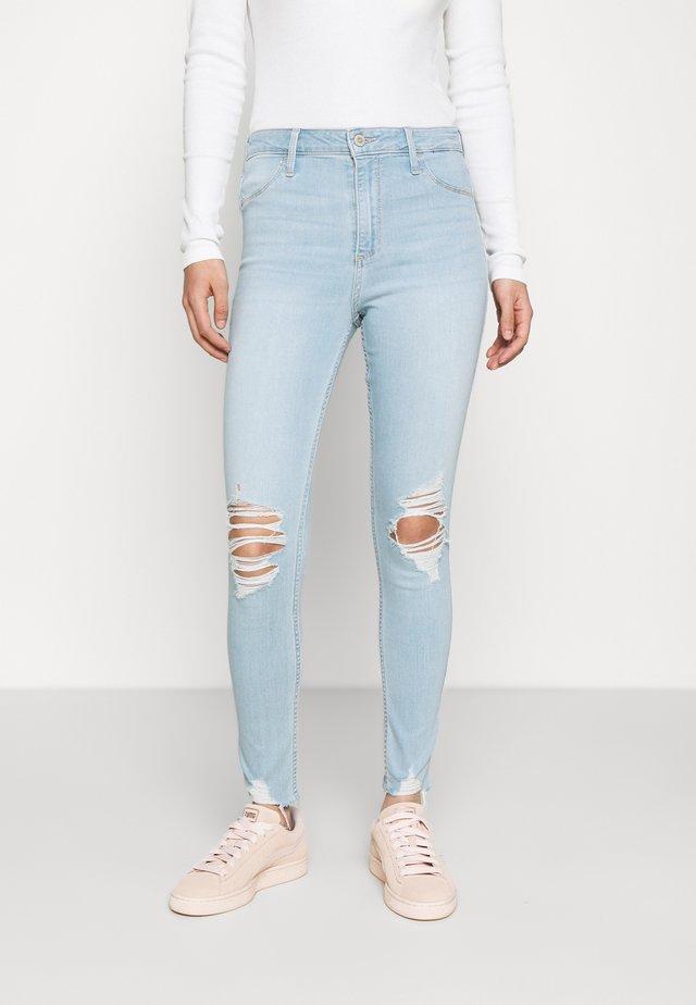 CURVY - Skinny džíny - indigo