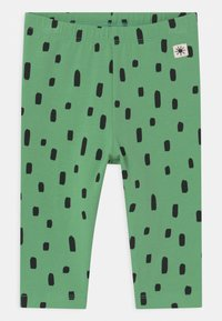 Lindex - ANIMAL 2 PACK UNISEX - Leggings - Trousers - green - 2