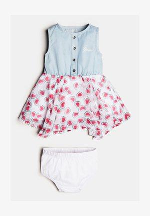 SET - Korte jurk - gemustert multicolor