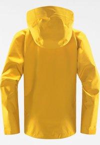 Haglöfs - HARDSHELLJACKE ROC GTX JACKET WOMEN - Hardshell jacket - pumpkin yellow - 6