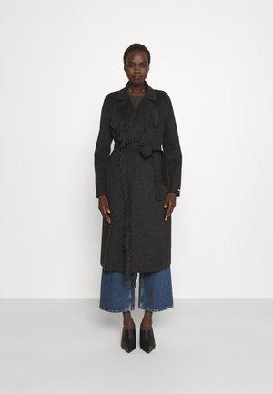 DEMIEN - Classic coat - grigio scuro