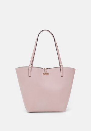 ALBY TOGGLE TOTE SET - Shopping bag - rosewood/stone