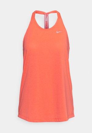 DRY ELASTIKA TANK - Treningsskjorter - bright mango/white