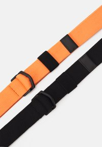 Zign - 2 PACK UNISEX - Belt - orange/black - 2