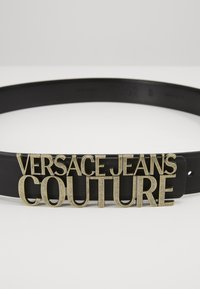 Versace Jeans Couture - COUTURE LOGO BELT - Pasek - nero - 2