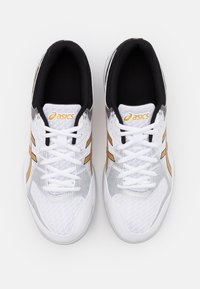 ASICS - GEL-ROCKET 9 - Volleyball shoes - white/pure gold - 3