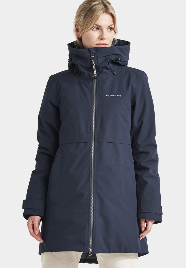 HELLE - Waterproof jacket - dark night blue