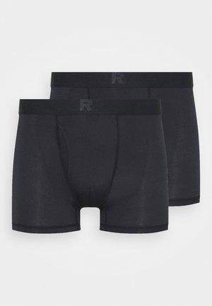 CORE DRY BOXER 2 PACK - Bokserit - black