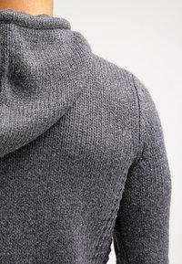 Pier One - Mikina skapucí - dark grey melange - 5