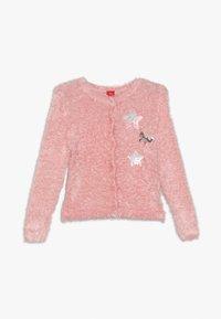 s.Oliver - LANGARM - Cardigan - light pink - 0
