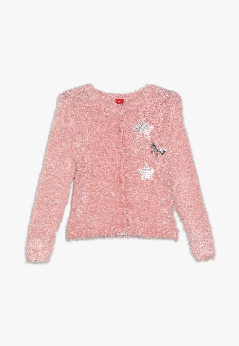 s.Oliver - LANGARM - Cardigan - light pink
