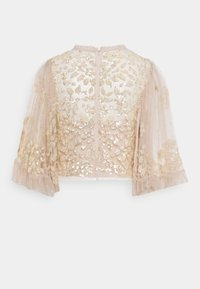 Needle & Thread - ANAÏS SEQUIN TOP - Blouse - pearl rose/champage - 1