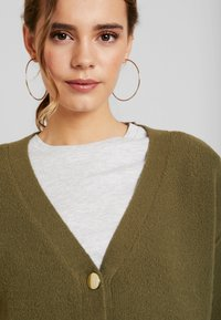 Object Petite - OBJCAMDEN CARDIGAN REPEAT - Cardigan - burnt olive - 5