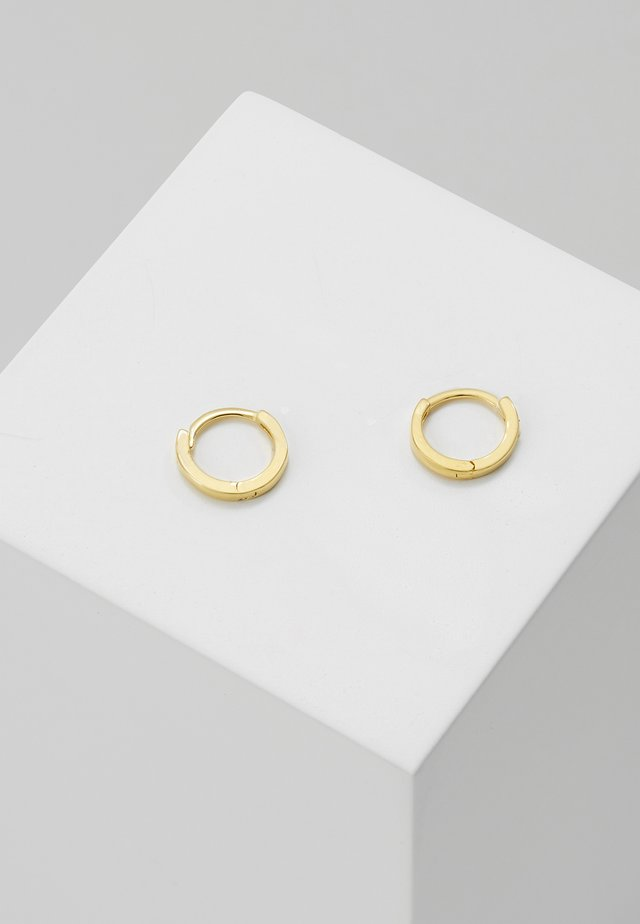 MYSTIC SIMPLE HOOPS - Øreringe - gold
