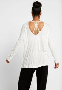 Deha - MANICA LUNGA - Långärmad tröja - white - 2