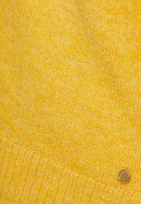 TOM TAILOR DENIM - COSY VNECK - Jumper - indian spice yellow melange - 2