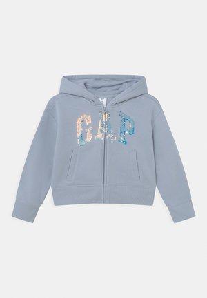 LOGO FLIPPY - Zip-up sweatshirt - ice blue