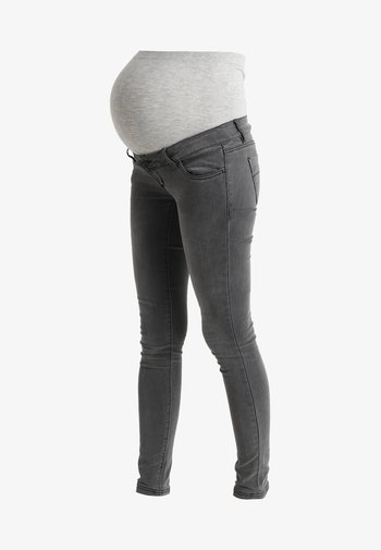 MLLOLA - Jeans Skinny Fit - grey denim