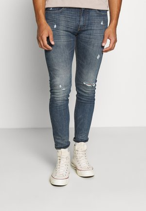 519™ EXT SKINNY HI-BALLB - Jeansy Skinny Fit - tide ride