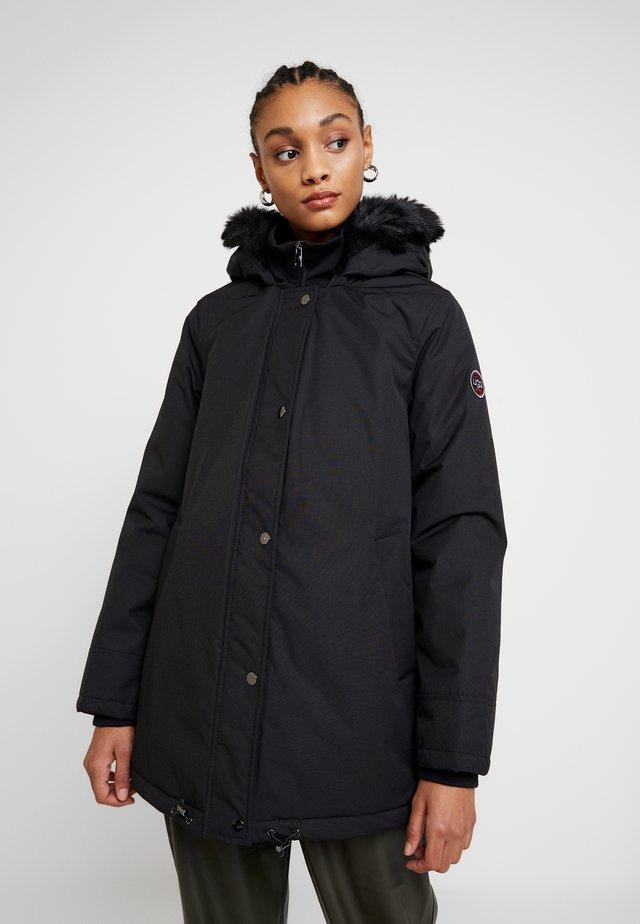 BERNICE - Zimní kabát - black