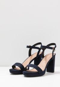 New Look - QUEEN - Sandály na vysokém podpatku - navy - 4