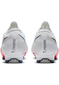 Nike Performance - MERCURIAL VAPOR  - Moulded stud football boots - white / flash crimson / photon dust - 3