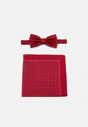 SET - Pocket square - red