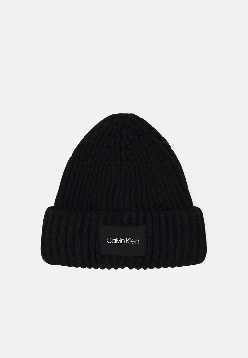 Calvin Klein - BEANIE - Beanie - black