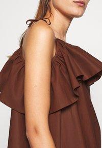 ARKET - DRESS - Day dress - brown dark - 6