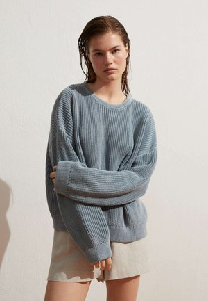Jumper - blue-grey