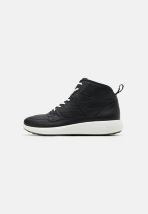 SOFT 7 RUNNER - High-top trainers - black