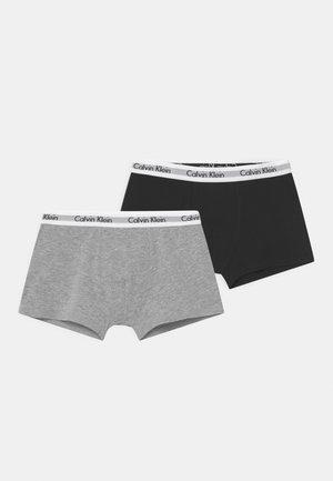 2 PACK - Pants - grey heather/black