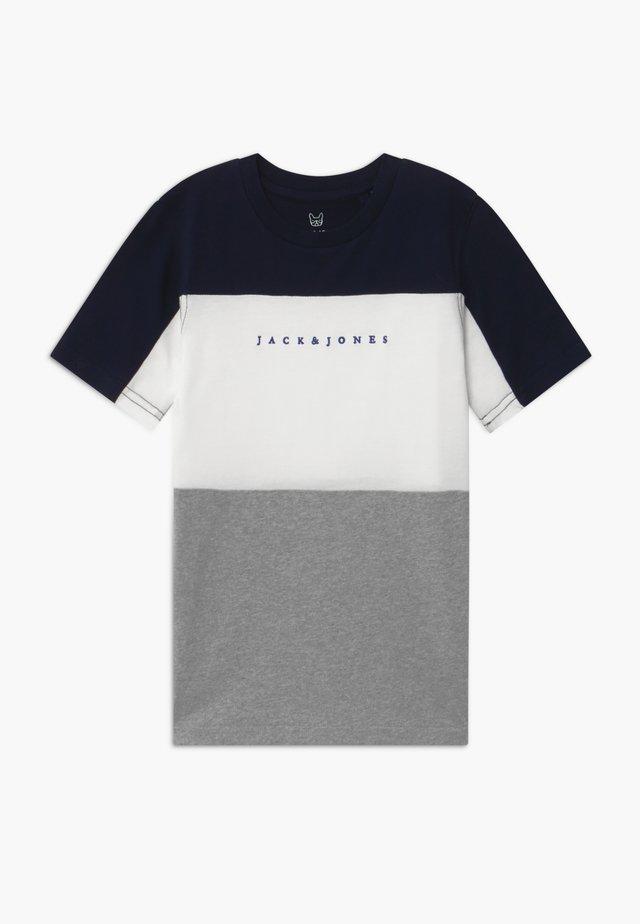 JORPRO TEE CREW NECK - T-Shirt print - navy blazer