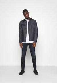 G-Star - WORKER OVERSHIRT - Denim jacket - arak denim - 1