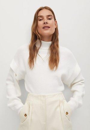 BERLIN - Pullover - blanc cassé