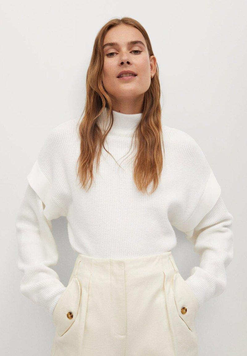 Mango - BERLIN - Pullover - blanc cassé