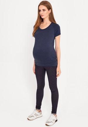 BASIC - Basic T-shirt - navy blue