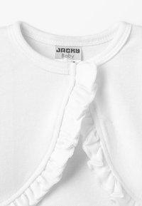 Jacky Baby - BOLERO CLASSIC BASIC BABY - Kardigan - off-white - 2