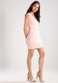 Kaffe - INDIA V NECK DRESS - Shift dress - evening rose - 1