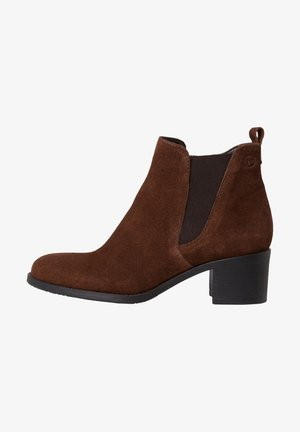 Classic ankle boots - chocolate sue.