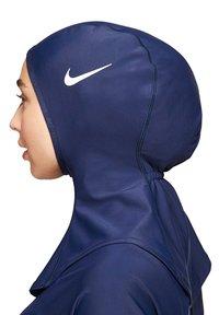 Nike Swim - HIJAB MODEST SWIM HIJAB - Hat - navy - 2