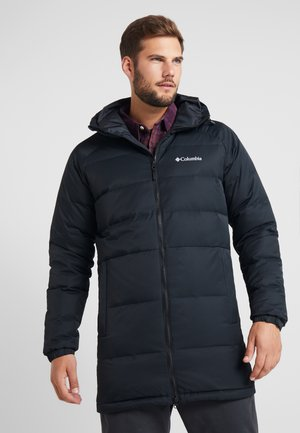 MACLEAY LONG - Kabát zprachového peří - black