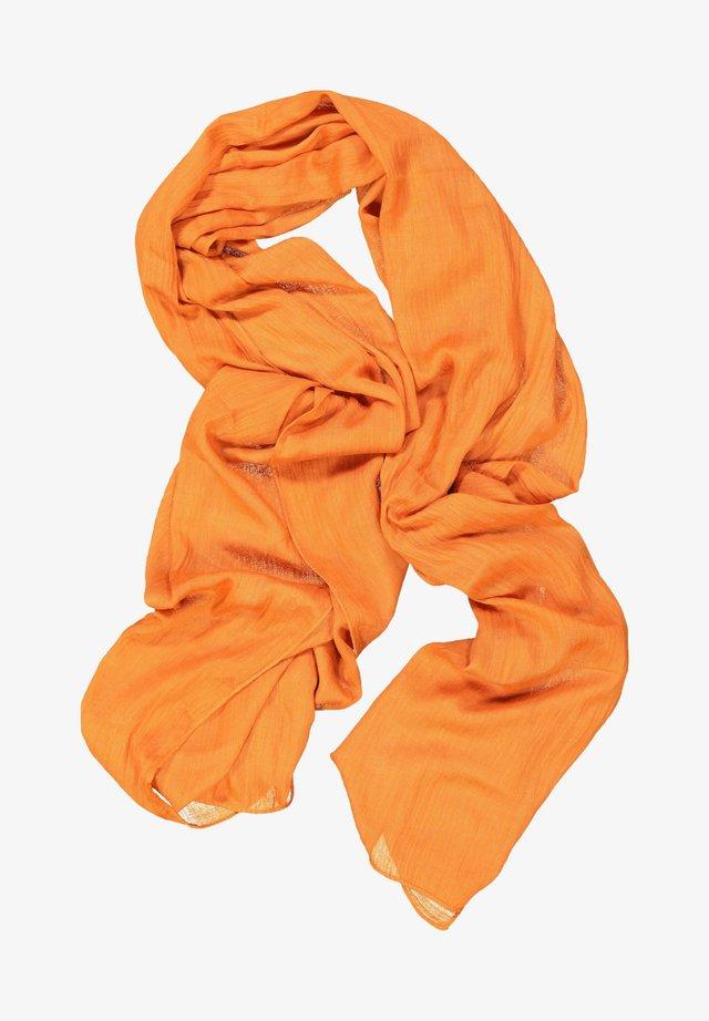 Sjaal - kürbisorange